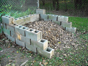 Brick Compost Bin